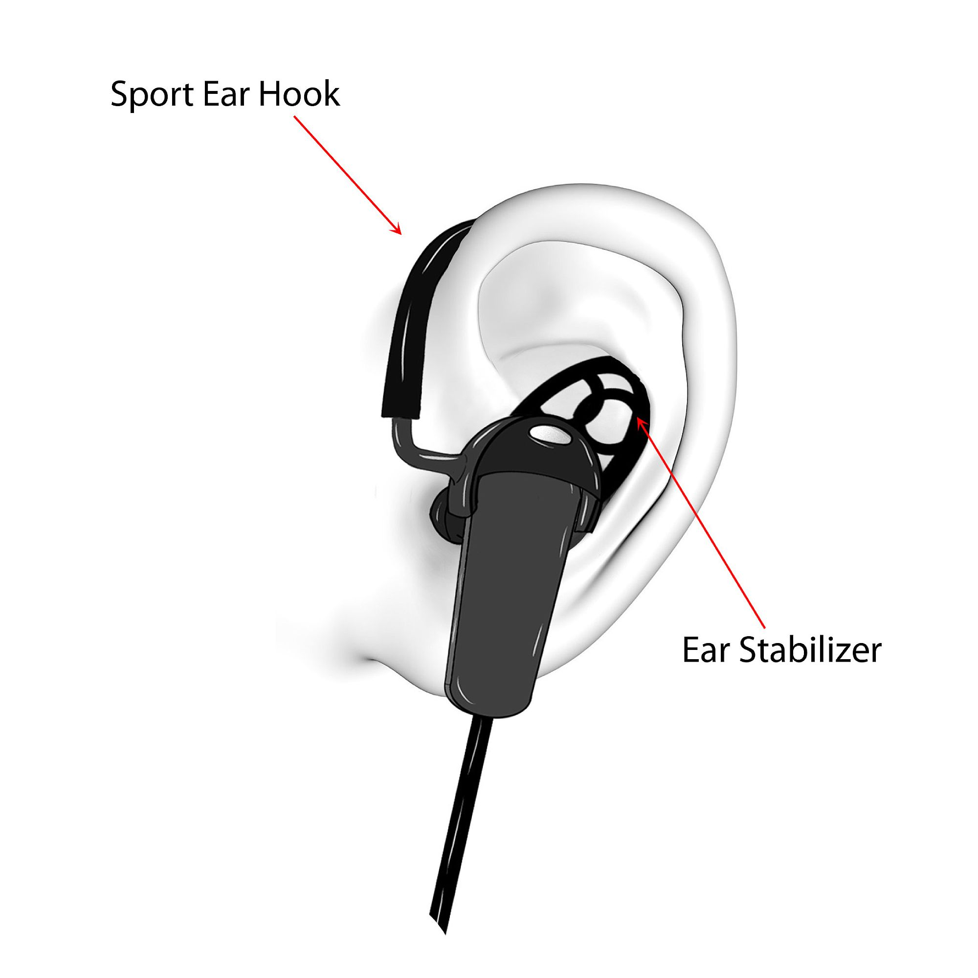 jarv nmotion sport wireless bluetooth stereo earbuds. Black Bedroom Furniture Sets. Home Design Ideas