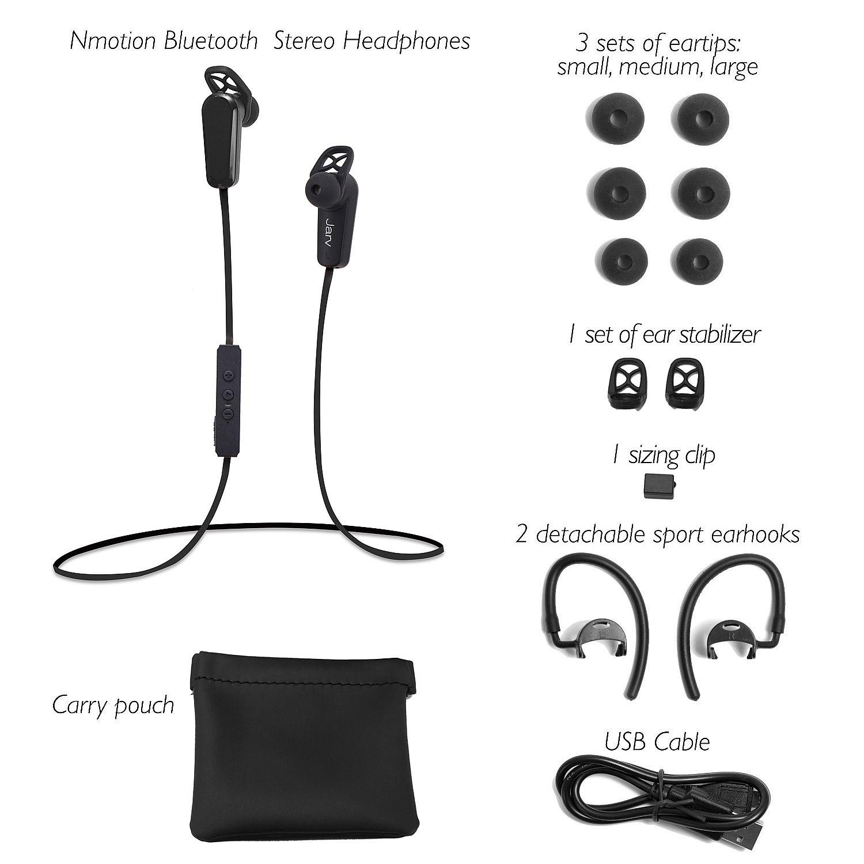 Wireless headphones bluetooth with microphone - headphones with microphone black