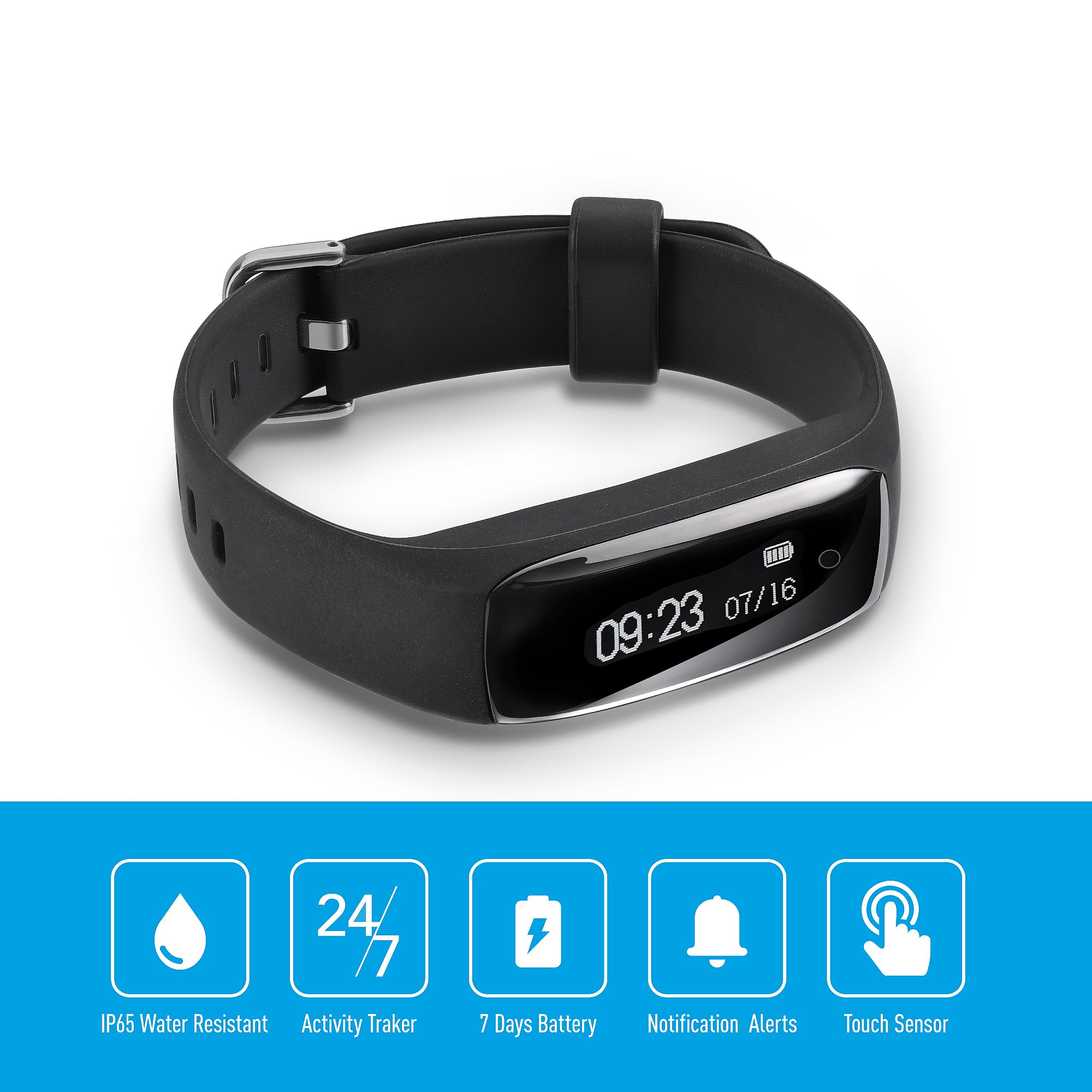 Fitness Bands Compatible With Iphone: Jarv RunFit Water-Resistant Fitness Tracker Activity Band