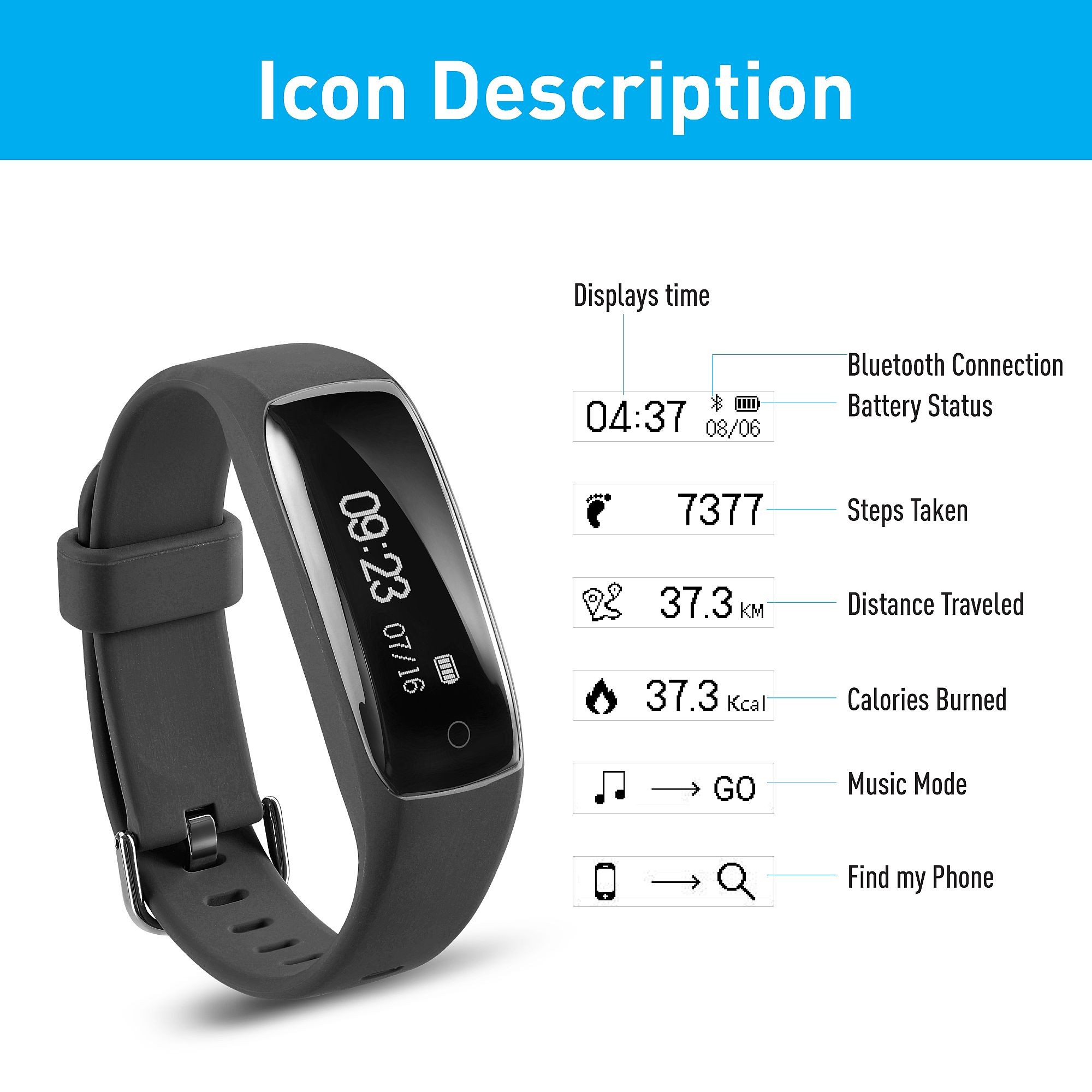 fitness calls hr oled control calorie step drillpro watches tracker consumption camera sms wireless activity remote pin counter